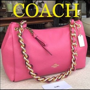 COACH  Mia with chain shoulder bag
